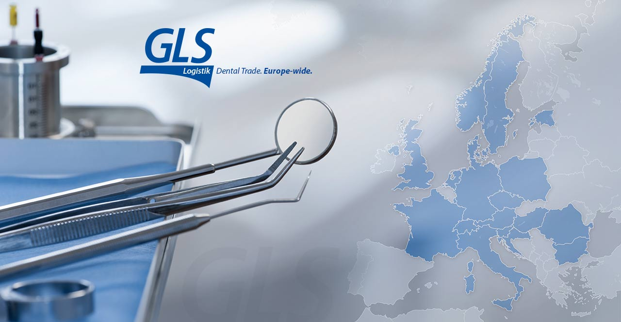 GLS Logistik dental trade euope-wide